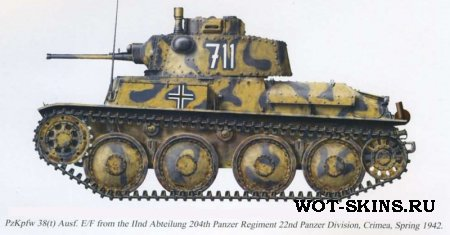 PzKpfw 38(t) /02/ by Gesar