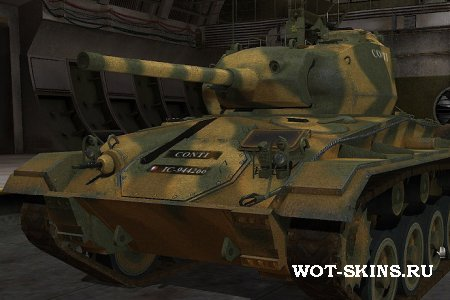 Skin M24 Chaffee /07/ by coldrabbit