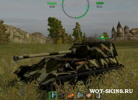 Шкурка для World Of Tanks на СУ-85Б /01/