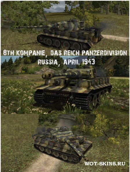 PzKpfw VI Tiger /08/ by Tanz