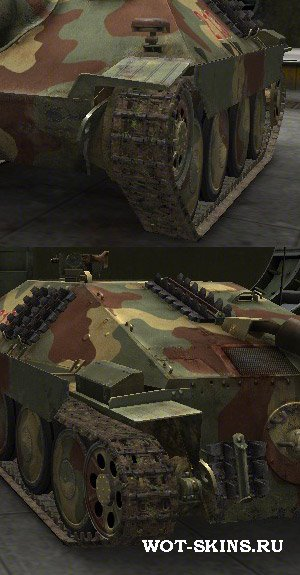 Hetzer tracks by coldrabbit